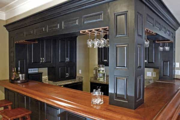 Black Bar Cabinets Minneapolis Painting Company