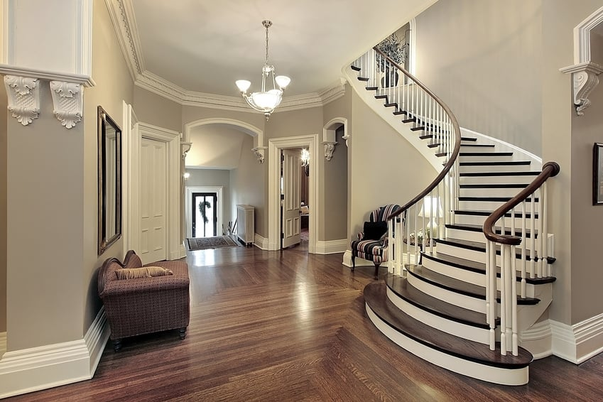 Beautiful Entryway Paint Colors Interior with Stairs 849 x 566 · 217 kB · jpeg