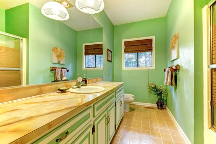 Bathroom Paint Ideas #6: Go Crazy