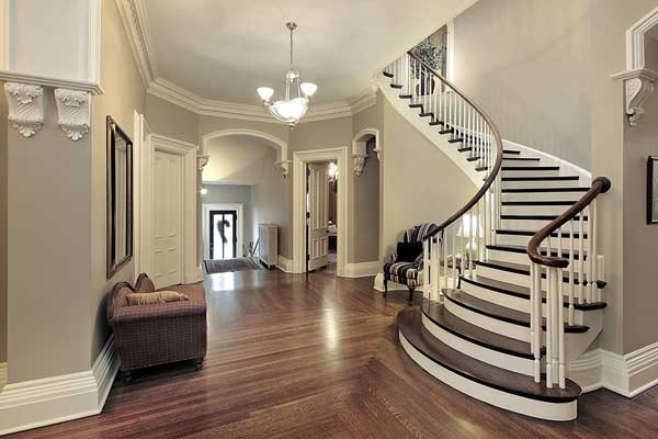 Purple Foyer Paint : Interior decorating minneapolis painting company
