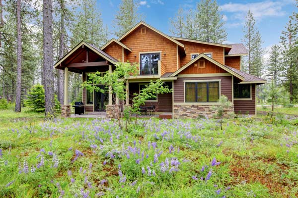 Best paint schemes for exterior cabin joy studio design for Log cabin exterior stain colors