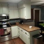 Painted Kitchen Cabinets After