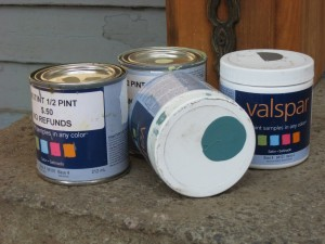 Sample Paint Cans