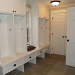 Enameled Mud Room