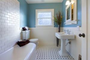 Eggshell Paint in Bathroom