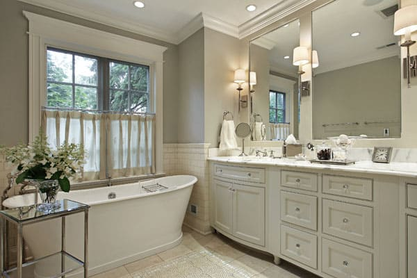 Classic Bathroom Paint Idea