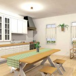 Ideas For Country Kitchen Cabinets 11