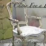 Glazing A Chair - Video and How To 19