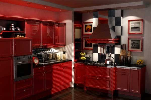 kitchens with red cabinets how to choose a kitchen color scheme minneapolis 22297