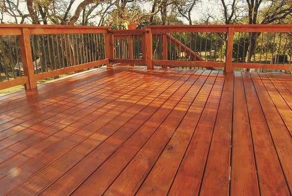 Deck Staining and Power Washing 1