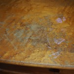 Water Damage on Dresser Top