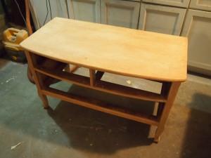 Dresser After Sanding