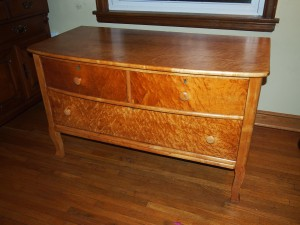 How To Refinish A Dresser 1