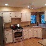 Enameled Kitchen Cabinets