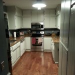 Enameled Kitchen Cupboards