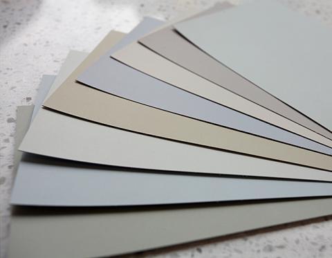 Gray Paint Chip Palette